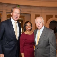 News, shelby, Foundation for Teen Health luncheon, Oct. 2015, David Dewhurst, Phyllis Williams, Judge Mike McSpadden
