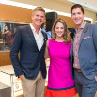 News, Shelby, IW Marks party, Sept. 2015, Dan Pederson, Evangelia Anagnostopoulos, Scott Konitzer