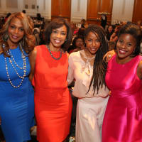 News, Shelby, Stiletto Strut, Sept. 2015 Nicole West, Gina Gaston, Tiffany Smith, Kafi Slaughter