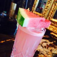 Juniper Tar pink watermelon cocktail San Antonio