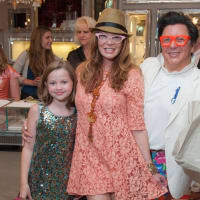 News, Shelby, Alex Martinez Back to School event, Aug. 2015, Charlotte Murry, Cindi Rose, JMichael Soliz