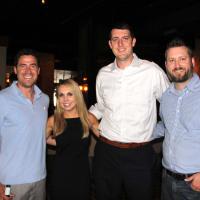 Houston, Friends of Depelchin Back to School Happy Hour, August 2015, Ben Sachs, Natalie Higden, Robert Tinnell, Paxton Rogers