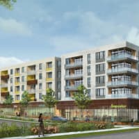 Highland District RedLeaf Properties Greystar apartment development rendering 2015