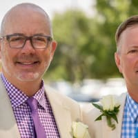 Austin gay couple married Travis County Darin Upchurch Charles Ted Burton headshot 2015