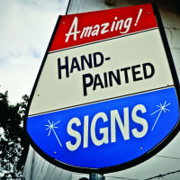 """Houston Center for Contemporary Craft presents """"For Hire: Contemporary Sign Painting in America"""" opening reception"""