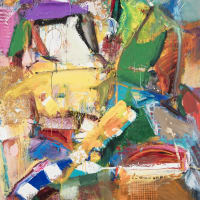 """Bivins Gallery presents Richard Hickam: """"Expressions of Color"""""""