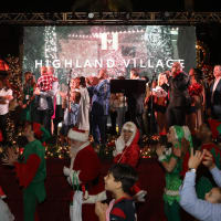 Highland Village Holiday Shopping Card Kick-Off