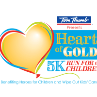 Heroes for Children presents Heart of Gold 5K: Run for the Children