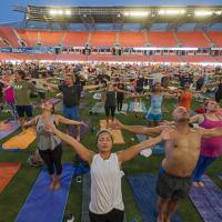 YogaOne Studios presents Yoga on the Pitch