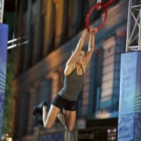 Kacy Catanzaro at San Antonio American Ninja Warrior City Finals