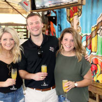 Houston, Depelchin Center Tailgate, September 2017, Kaila Irons, Andrew Elliott, Lauren Bagley