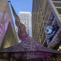 """Sculpture Month Houston presents """"Tensile Strength"""" opening day"""