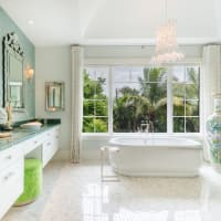 Houzz bathroom remodel tub