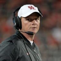 University of Houston head coach Major Applewhite