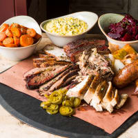 Pappas Delta Blues Smokehouse family feast