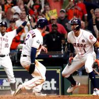 Houston Astros Game 5 hit Alex Bregman