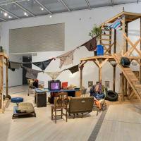 MFAH: Home, Abraham Cruzvillegas, Autoconstrucción