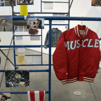 """""""Muscle Panic objects"""" opening reception"""