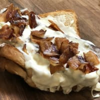 grilled cheese bacon hot dog