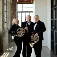 Elyssa Munden, Joe Freilich, and Dan Patterson from Fort Bend Symphony Orchestra