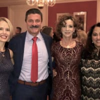 Dana Schultes, Jeff and Kim Halstead, Sherry Aaron, Stage West Acting with the Stars 2018