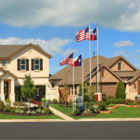 Crosswinds model homes