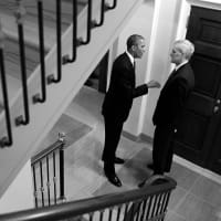 President Barack Obama and Denis McDonough