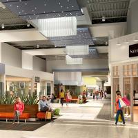 interior rendering new Katy Mills Mall