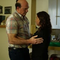 John Carroll Lynch and Maura Tierney in Anything