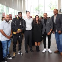 Big Brothers Big Sisters Big Taste 2018 judges Bun B, Trae tha Truth, Adam Goldberg, Daniela Velasco, DJ Mr. Rogers, Chester Pitts