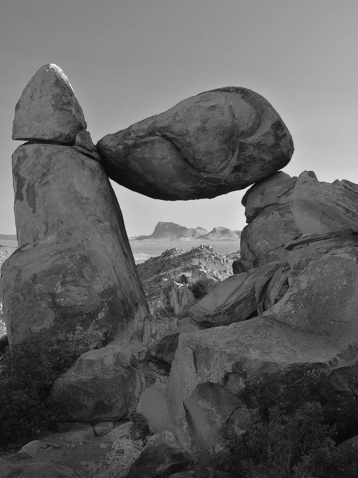 Mark Burns photo of Balanced Rock at Big Bend National Park