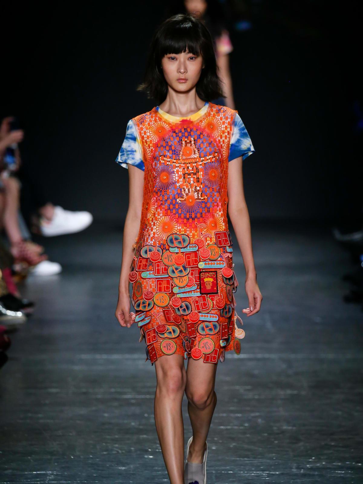Vivienne Tam look 11 Houston collection