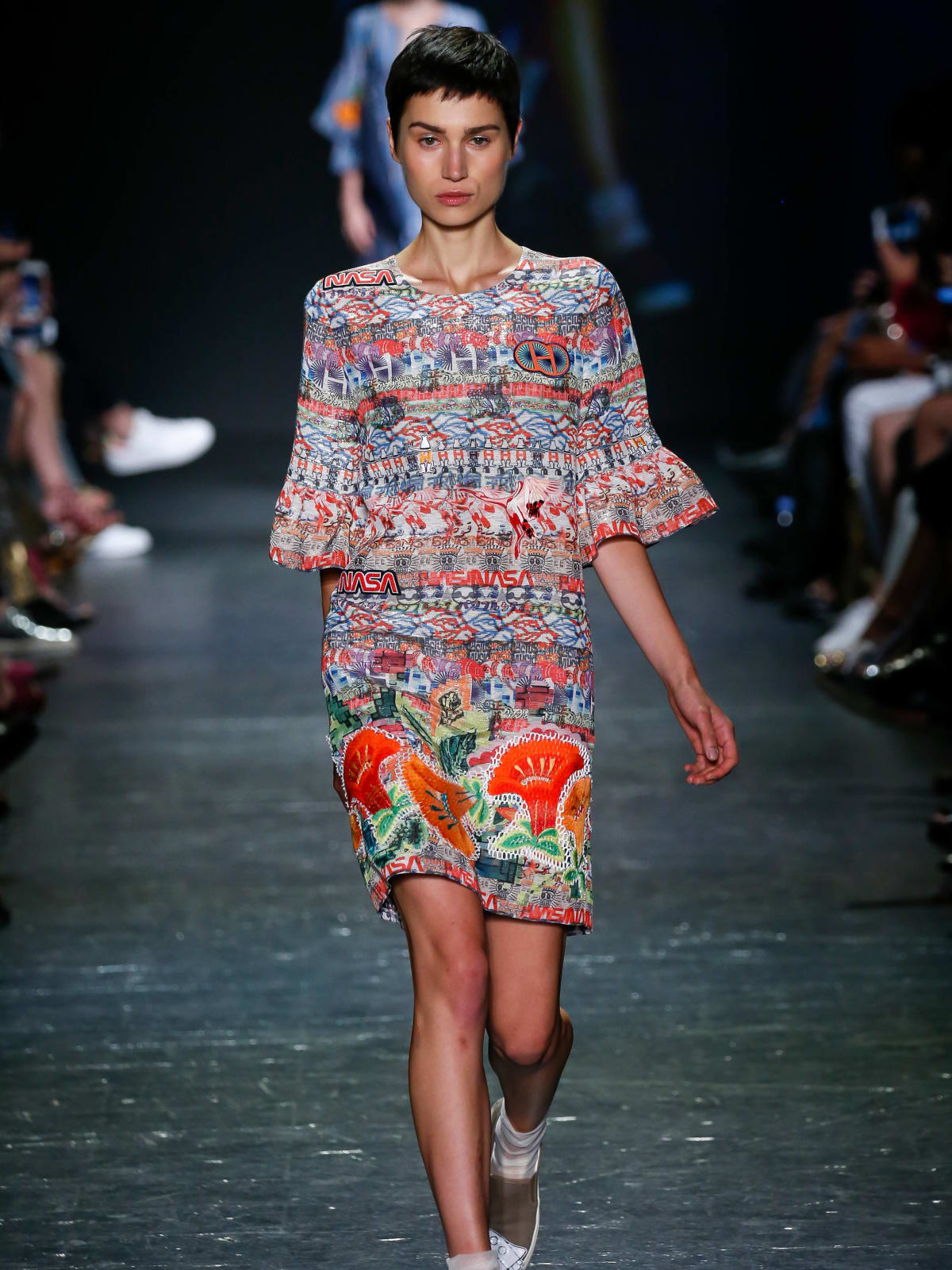 Vivienne Tam look 16 Houston collection