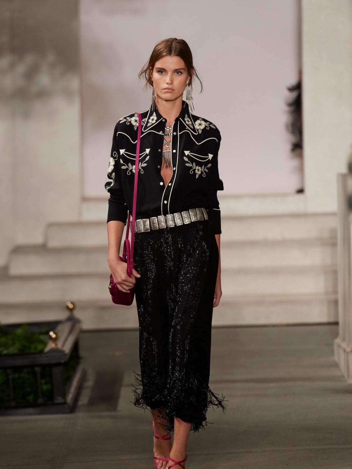Ralph Lauren gown look 2