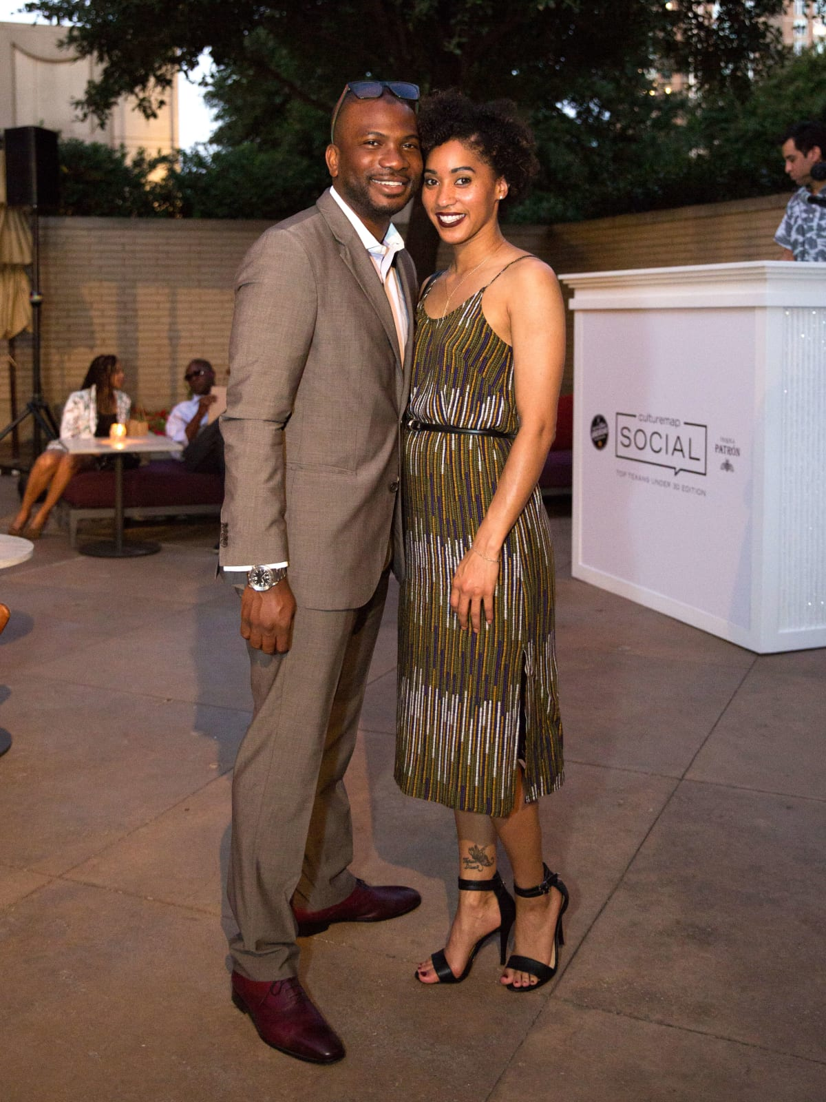 Nnamdi Anozie, Choni James