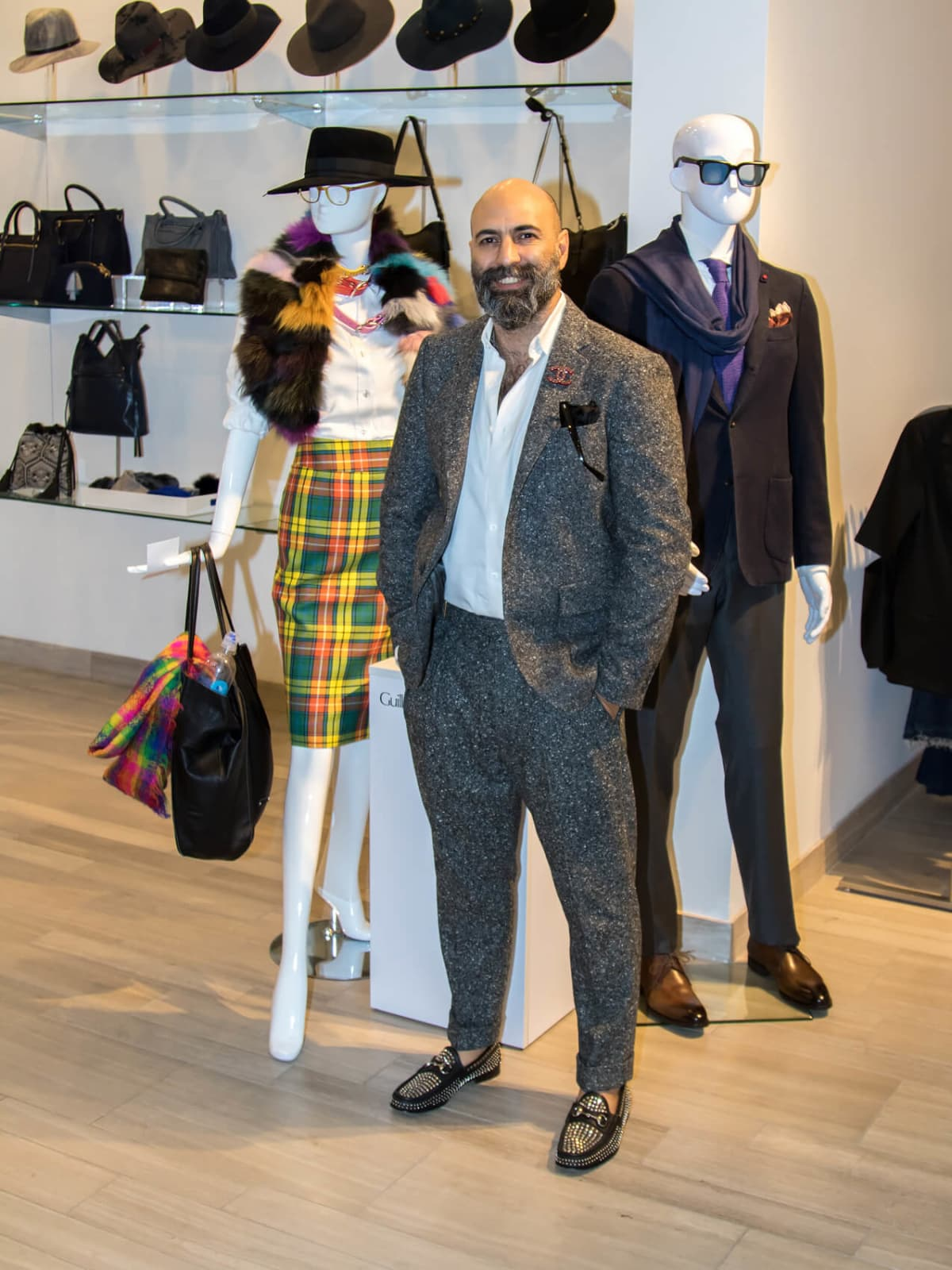 Guillermo Tragant, Dallas Stylemaker 2016 Reveal Party