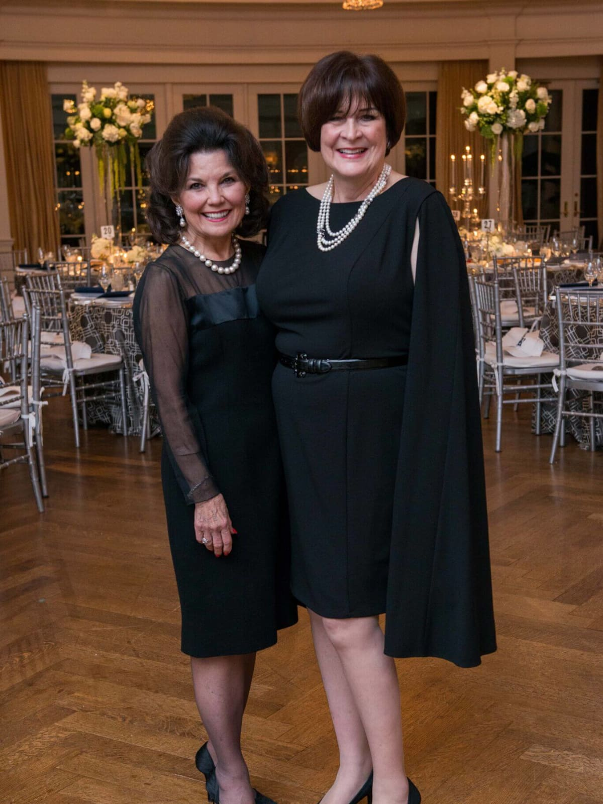 Linda McReynolds, Cynthia Allshouse at Rice Honors Gala