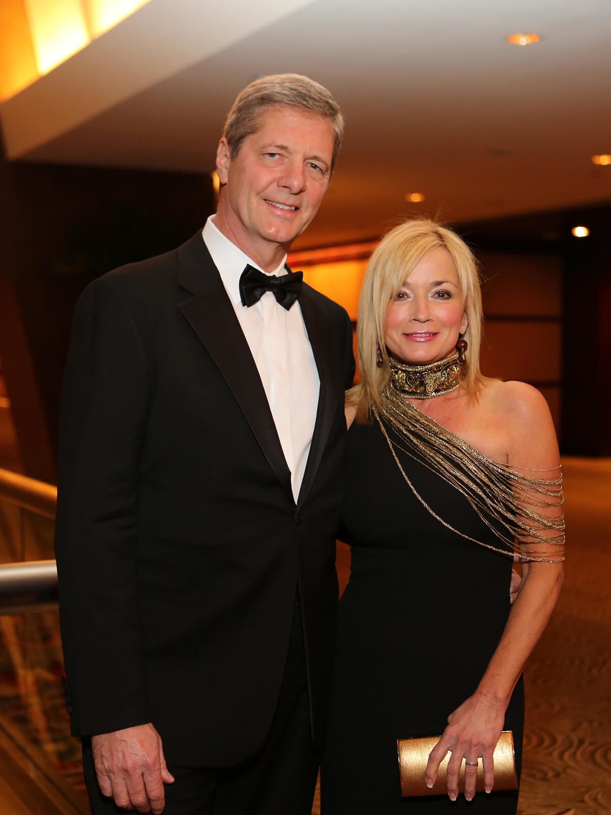 Bobby and Wezy Dees at the Winter Ball January 2014
