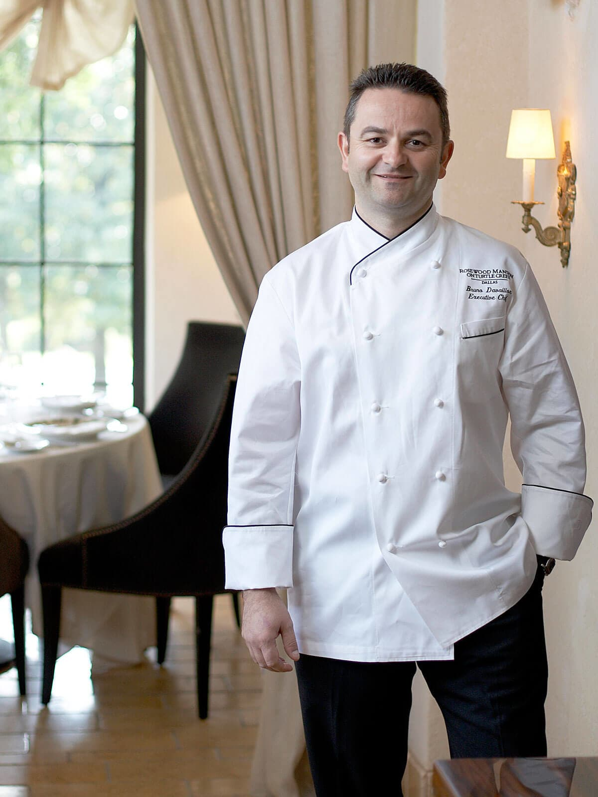 Chef Bruno Davaillon from Rosewood Manion on Turtle Creek