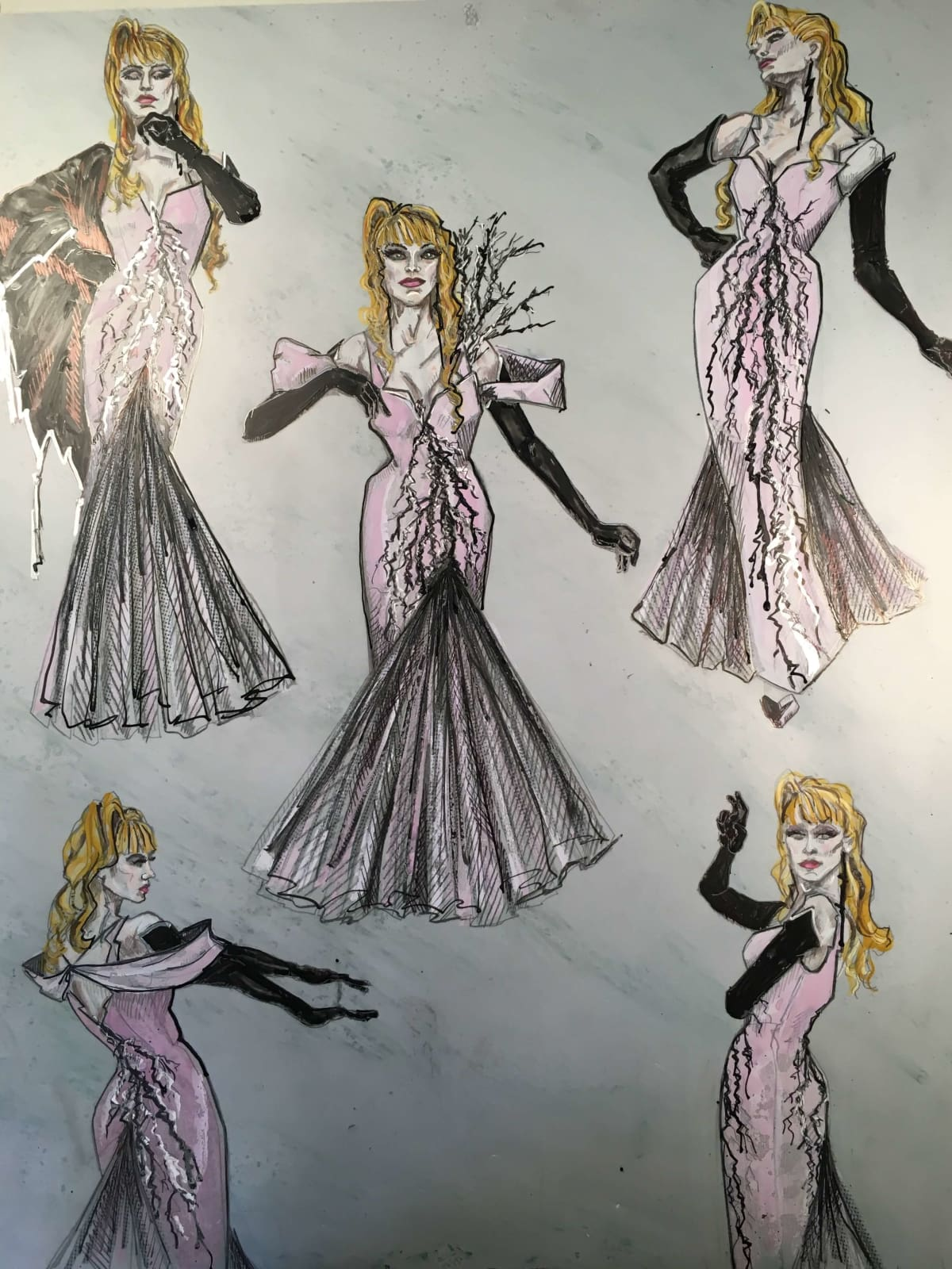 TUTS Into the Woods 2016 costume design by Ann Hould-Ward