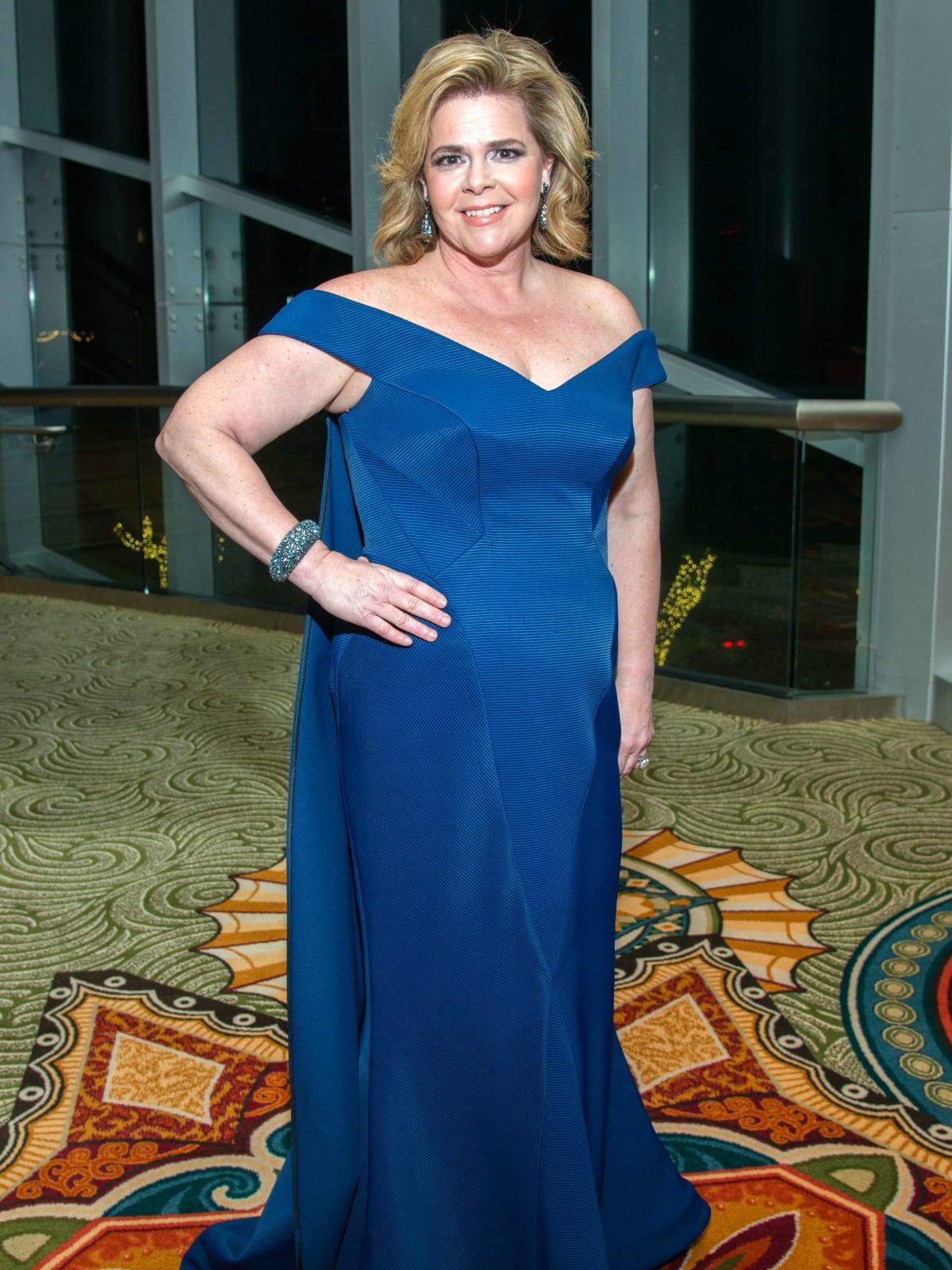 Houston, Women of Distinction fashionable gowns, Feb 2017, Kelli Weinzierl