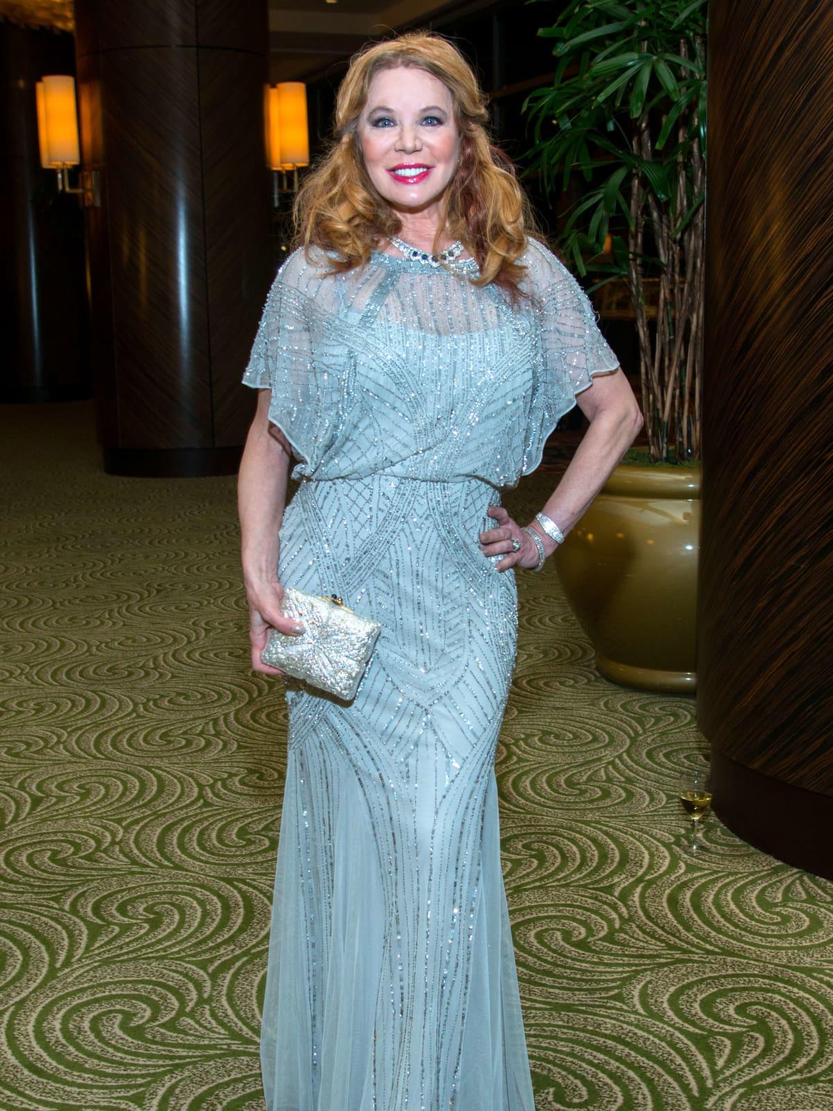 Houston, Women of Distinction fashionable gowns, Feb 2017, Cindi Rose
