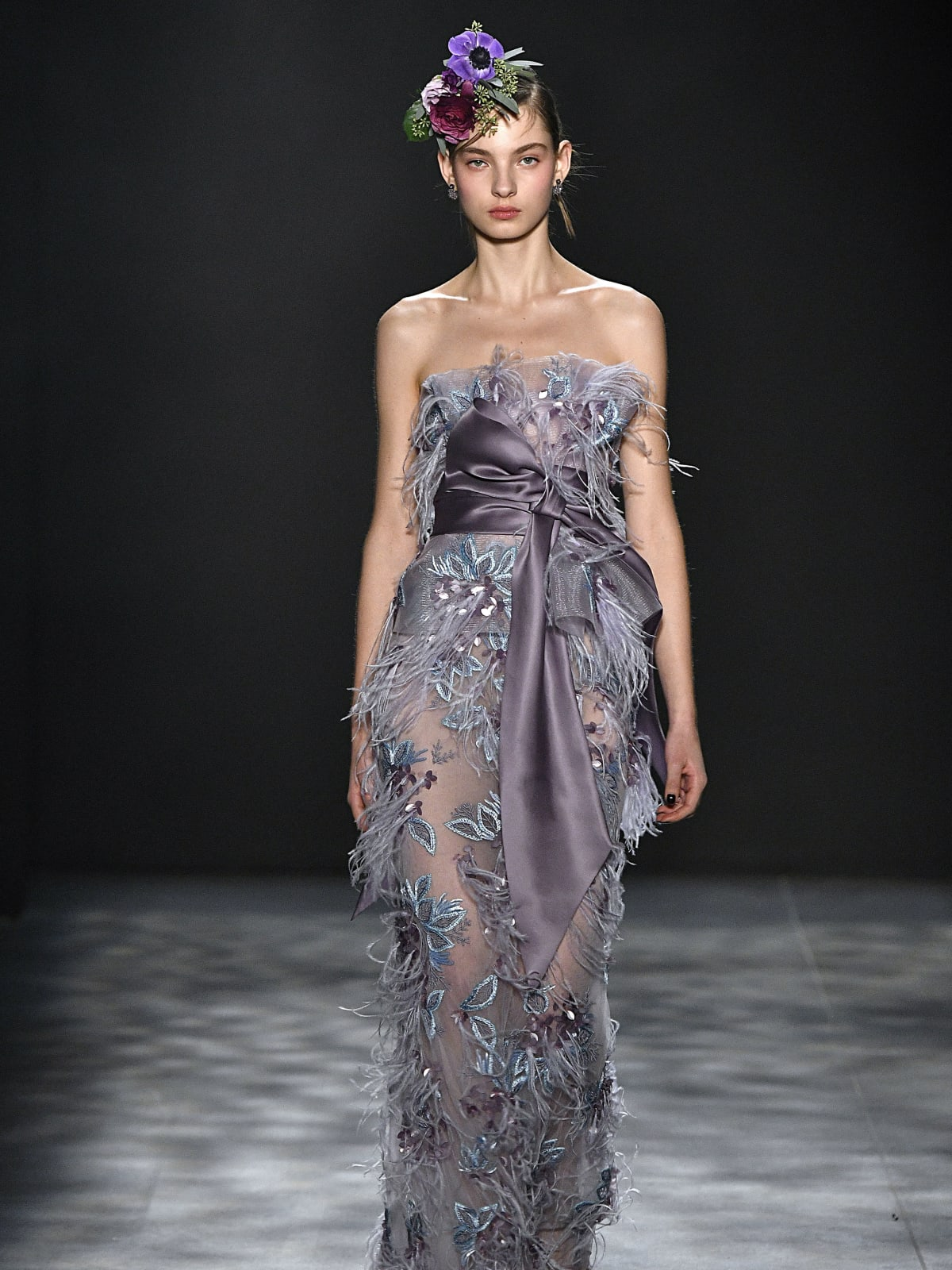 Marchesa fall 2017 collection look 11