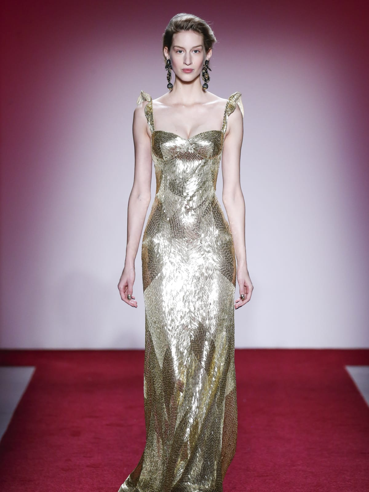 Naeem Khan fall 2017 collection look 38