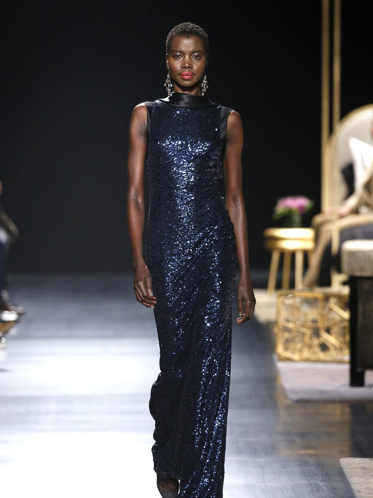 Badgley Mischka fall 2017 look 3