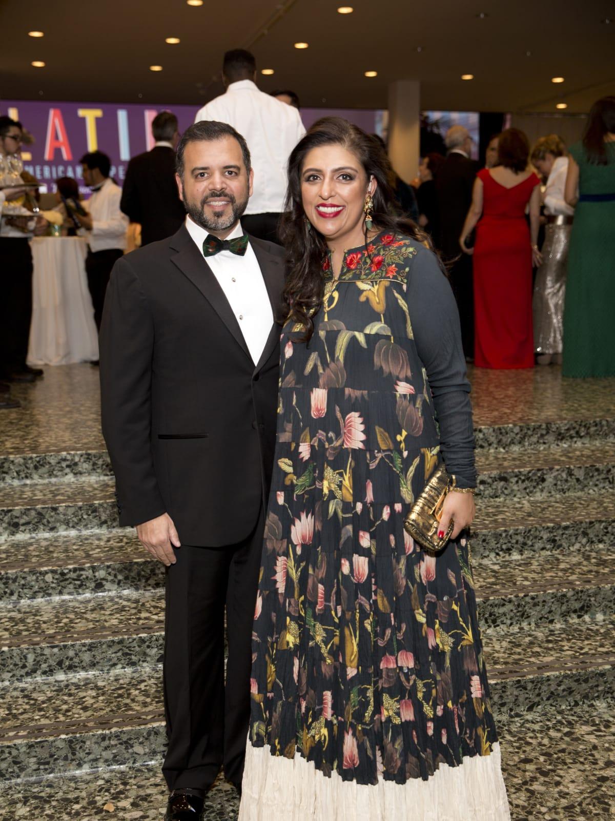 Pershant Mehta, Nidhika Mehta at Latin American Experience