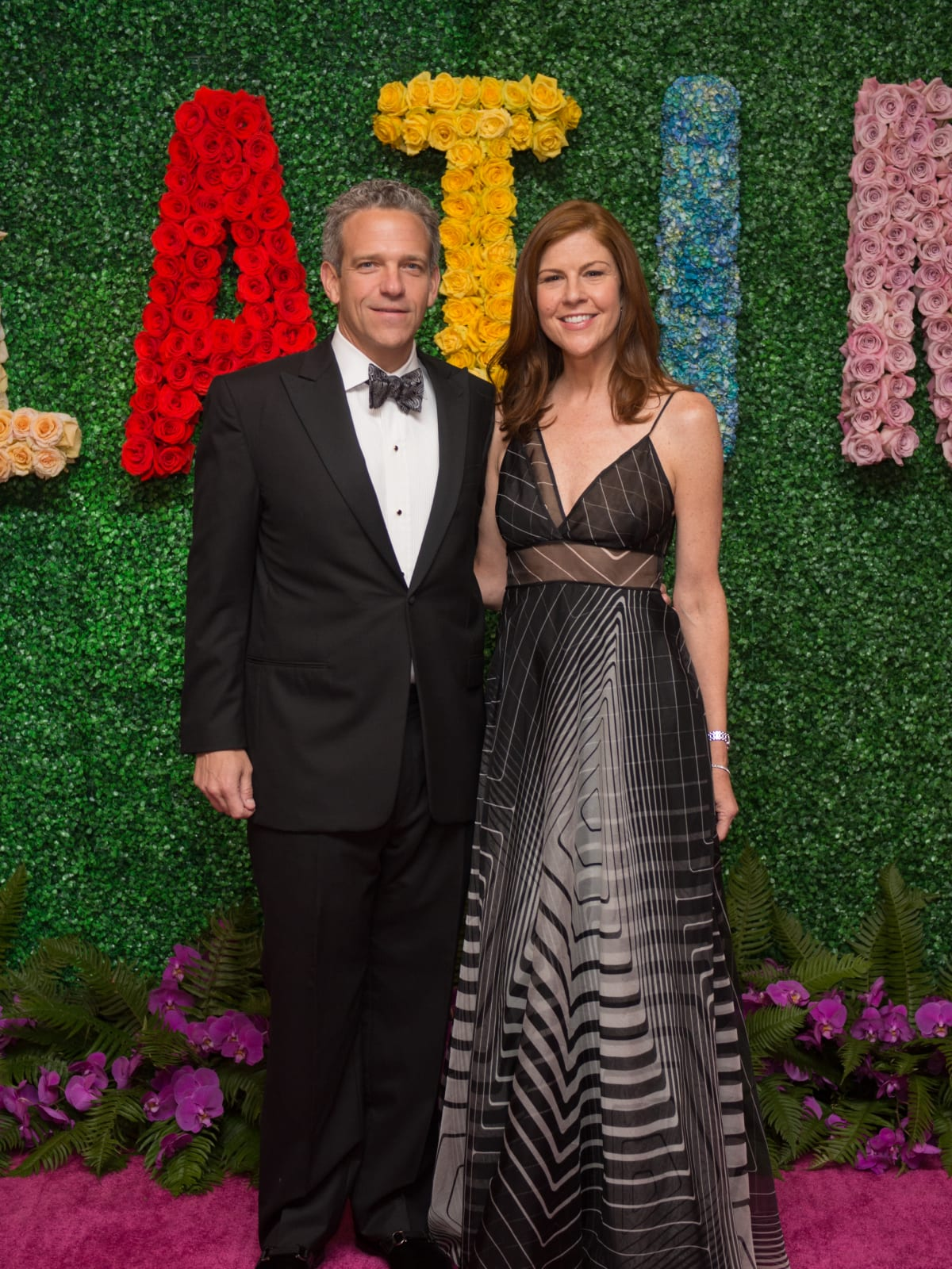 Mary Lile, Tom Lile at Latin American Gala