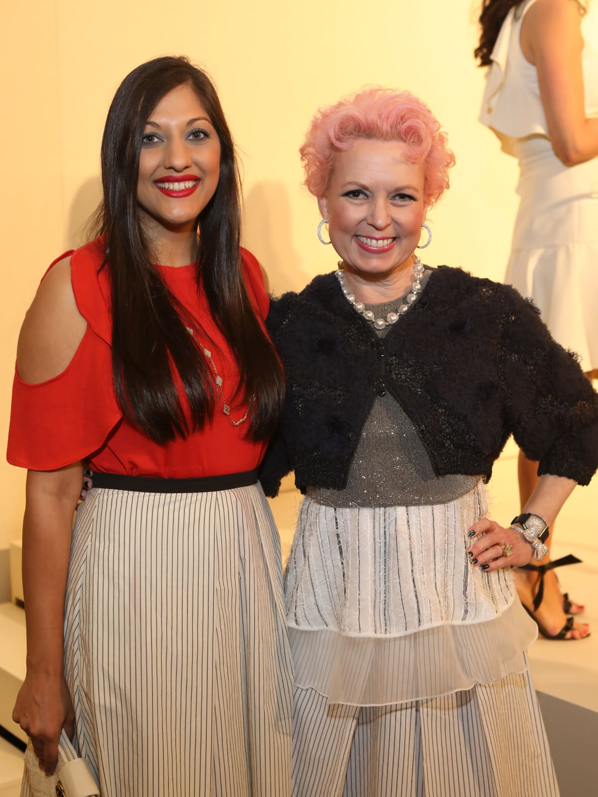 Sippi Khurana, Vivian Wise at Best Dressed Luncheon 2017