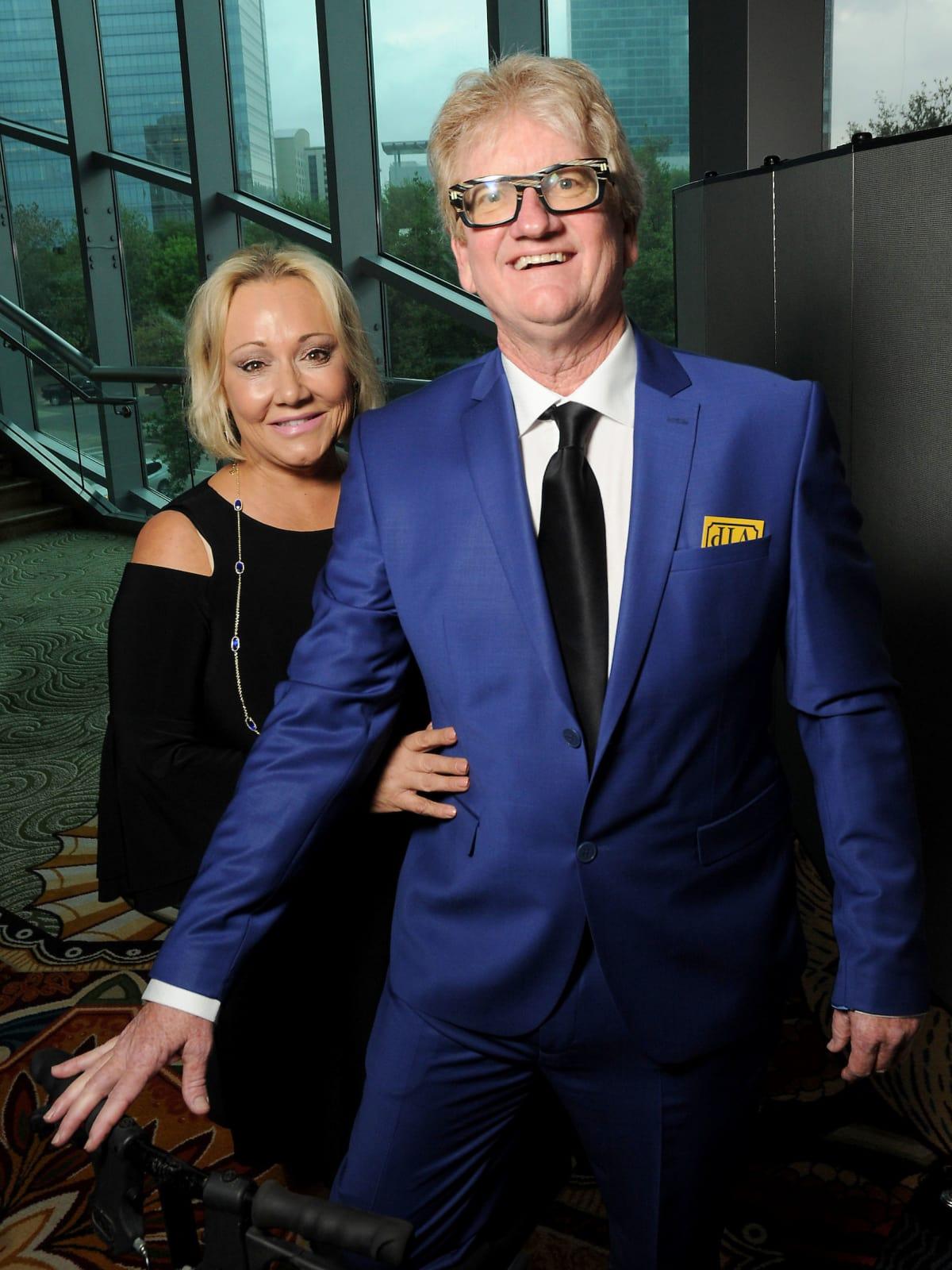 Kickstart gala Honorees Laura True and  Mike King