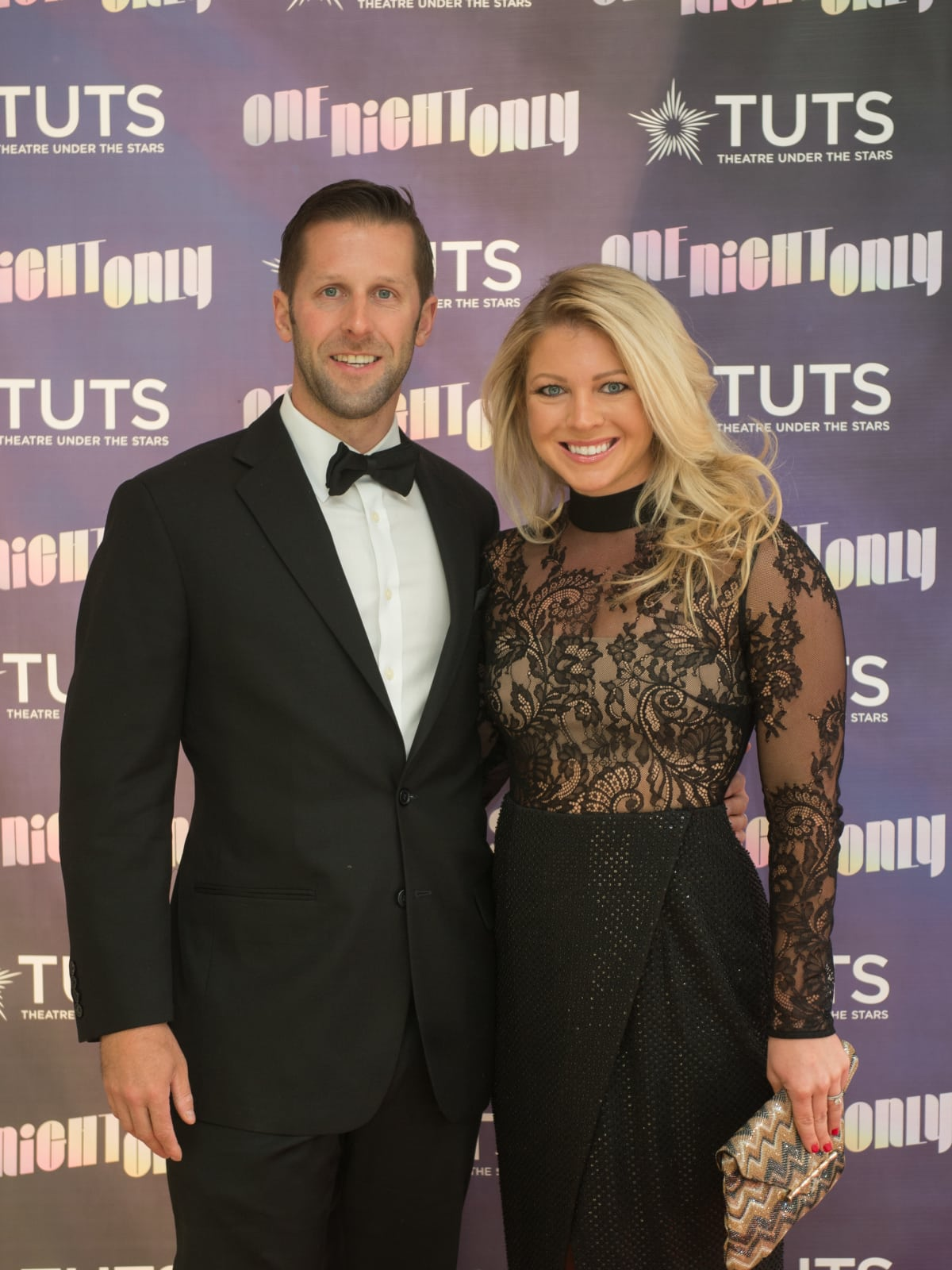 Austin and Marian Cornelius at TUTS Dreamgirls Gala 2017